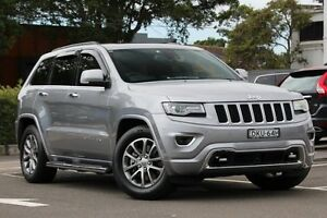 2013 Jeep Grand Cherokee WK MY14 Overland (4x4) Billet Silver 8 Speed Automatic Wagon Dee Why Manly Area Preview