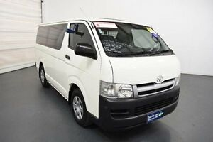 2007 Toyota Hiace KDH201R MY07 Upgrade LWB French Vanilla 4 Speed Automatic Van Moorabbin Kingston Area Preview
