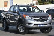 2012 Mazda BT-50 UP0YF1 XTR 4x2 Hi-Rider Titanium Grey 6 Speed Manual Utility Maylands Bayswater Area Preview