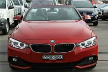 2015 BMW 428i F33 Sport Line Melbourne Red 8 Speed Sports Automatic Convertible Hamilton East Newcastle Area Preview