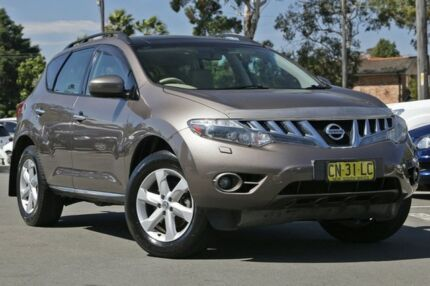 2010 Nissan Murano Z51 Series 2 MY10 TI Tinted Bronze 6 Speed Constant Variable Wagon