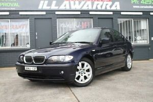 2002 BMW 318I E46 MY2002 Executive Blue 5 Speed Automatic Sedan Barrack Heights Shellharbour Area Preview