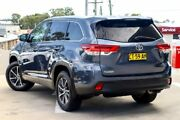 2017 Toyota Kluger GSU50R GXL 2WD Cosmos Blue 8 Speed Sports Automatic Wagon Blacktown Blacktown Area Preview