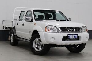 2013 Nissan Navara D22 Series 5 ST-R (4x4) White 5 Speed Manual Dual Cab Pick-up Bentley Canning Area Preview