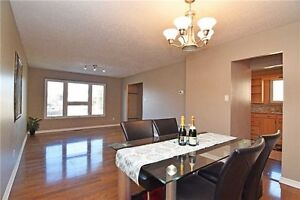 Beautiful Semi Raised Bungalow With Walk Out Basement Apartment
