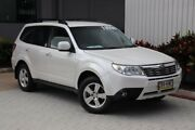 2008 Subaru Forester 79V MY08 XS AWD White 5 Speed Manual Wagon Bungalow Cairns City Preview