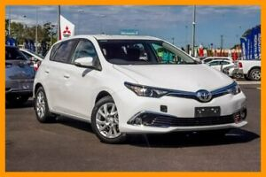 2017 Toyota Corolla ZRE182R Ascent Sport S-CVT White 7 Speed Constant Variable Hatchback Aspley Brisbane North East Preview