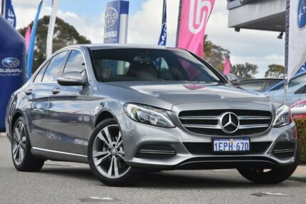 2014 Mercedes-Benz C200 W205 7G-Tronic + Silver 7 Speed Sports Automatic Sedan Willagee Melville Area Preview