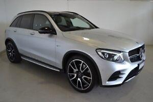 2018 Mercedes-Benz GLC43 X253 808MY AMG 9G-TRONIC 4MATIC Silver 9 Speed Sports Automatic Wagon
