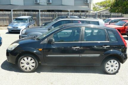2008 Ford Fiesta WQ LX Black 5 Speed Manual Hatchback South Gladstone Gladstone City Preview