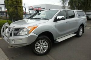 2012 Mazda BT-50 UP0YF1 XTR Silver 6 Speed Manual Utility Seaford Frankston Area Preview