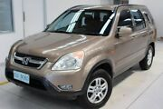 2002 Honda CR-V RD MY2002 Sport 4WD Brown 5 Speed Manual Wagon Moonah Glenorchy Area Preview