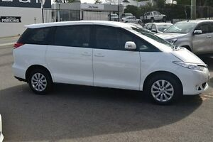 2015 Toyota Tarago ACR50R MY13 GLi Glacier White 7 Speed Constant Variable Wagon Claremont Nedlands Area Preview