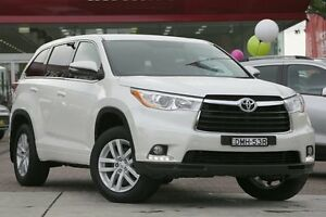 2015 Toyota Kluger GSU50R GX 2WD White 6 Speed Sports Automatic Wagon Waitara Hornsby Area Preview