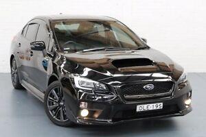 2014 Subaru WRX V1 MY15 Premium AWD Black 6 Speed Manual Sedan Glendale Lake Macquarie Area Preview