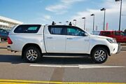 2016 Toyota Hilux GUN126R SR5 Double Cab White 6 Speed Sports Automatic Utility Strathmore Moonee Valley Preview