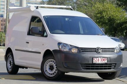 2011 Volkswagen Caddy 2KN MY11 TSI160 SWB White 5 Speed Manual Van
