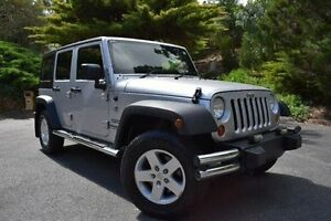 2011 Jeep Wrangler JK MY2010 Unlimited Sport Silver 4 Speed Automatic Softtop St Marys Mitcham Area Preview