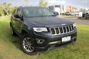 2016 Jeep Grand Cherokee WK MY15 Laredo Grey 8 Speed Sports Automatic Wagon Hallam Casey Area Preview
