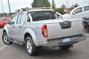 2014 Nissan Navara D40 S6 MY12 ST Silver 5 Speed Sports Automatic Utility Bayswater Bayswater Area Preview