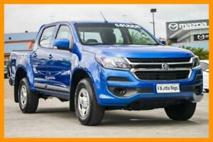 2019 Holden Colorado RG MY19 LS Pickup Crew Cab Blue 6 Speed Sports Automatic Utility Hillcrest Logan Area Preview