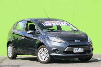 2012 Ford Fiesta WT LX PwrShift Grey 6 Speed Sports Automatic Dual Clutch Hatchback Ringwood East Maroondah Area Preview