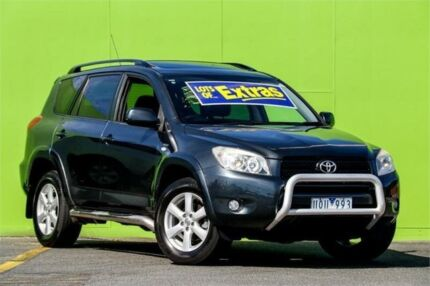 2006 Toyota RAV4 ACA33R Cruiser L Grey 4 Speed Automatic Wagon Ringwood East Maroondah Area Preview