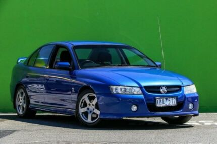 2004 Holden Commodore VZ SV6 Blue 5 Speed Sports Automatic Sedan