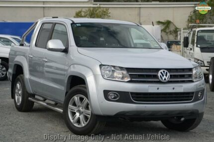 2015 Volkswagen Amarok 2H MY15 TDI400 Highline (4x4) Reflex Silver 6 Speed Manual Dual Cab Utility Gymea Sutherland Area Preview