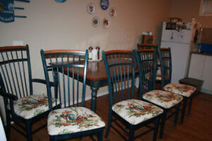 Dining Room Table Set. EXCELLENT condition and price reduced!