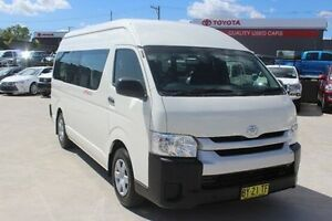 2014 Toyota Hiace TRH223R MY14 Commuter High Roof Super LWB White Automatic Bus South Maitland Maitland Area Preview