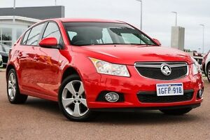 2014 Holden Cruze JH Series II MY14 Equipe Red 6 Speed Sports Automatic Hatchback East Rockingham Rockingham Area Preview