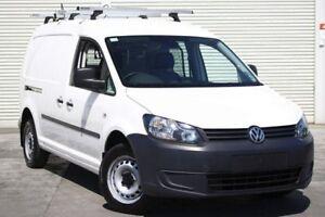 2011 Volkswagen Caddy 2KN MY11 TDI250 Maxi White 5 Speed Manual Van