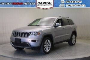 2017 Jeep Grand Cherokee Limited 4WD *Sunroof-Remote Start-Back