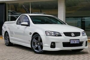 2012 Holden Ute VE II SS Thunder White 6 Speed Sports Automatic Utility St James Victoria Park Area Preview