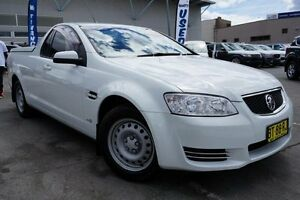 2013 Holden Ute VE II MY12.5 Omega White 6 Speed Sports Automatic Utility Pearce Woden Valley Preview