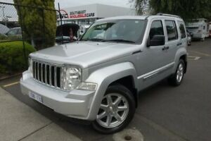 2012 Jeep Cherokee KK MY12 Limited Silver 5 Speed Sports Automatic Wagon Seaford Frankston Area Preview