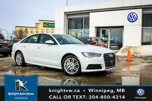 2017 Audi A6 Quattro AWD w/ Navigation/Backup Cam/Leather/Sunro