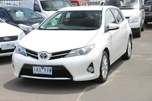 2013 Toyota Corolla ZRE182R Ascent Sport S-CVT White Pearl 7 Speed Constant Variable Hatchback Heatherton Kingston Area Preview