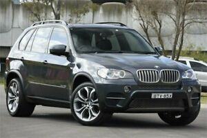 2010 BMW X5 E70 MY10 xDrive 40d Sport Grey 8 Speed Automatic Sequential Wagon