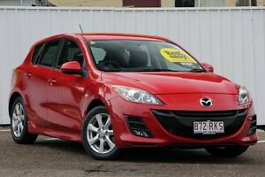 2011 Mazda 3 BL10F2 Maxx Activematic Sport Velocity Red 5 Speed Sports Automatic Hatchback Chermside Brisbane North East Preview
