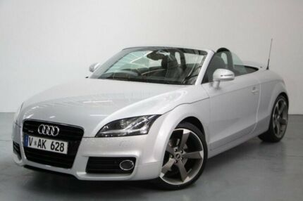 2012 Audi TT 8J MY12 S tronic quattro Silver 6 Speed Sports Automatic Dual Clutch Roadster