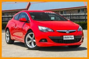 2014 Holden Astra PJ MY15.5 GTC Sport Red/Black 6 Speed Automatic Hatchback Hillcrest Logan Area Preview