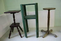 plant stands / table bases (5)