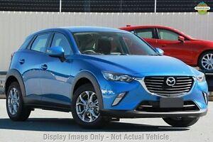 2016 Mazda CX-3 DK2W7A Maxx SKYACTIV-Drive Dynamic Blue 6 Speed Sports Automatic Wagon West Hindmarsh Charles Sturt Area Preview