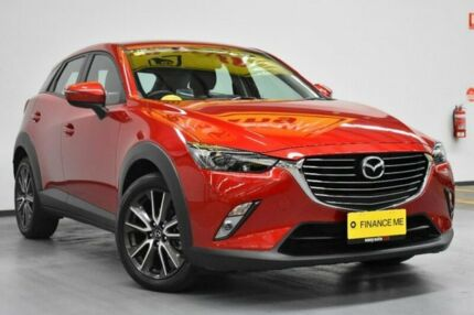 2016 Mazda CX-3 DK2W7A sTouring SKYACTIV-Drive Soul Red 6 Speed Sports Automatic Wagon Brooklyn Brimbank Area Preview