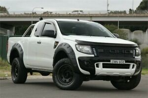 2013 Ford Ranger PX XL Super Cab White 6 Speed Manual Utility Granville Parramatta Area Preview