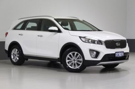 2016 Kia Sorento UM MY16 SI (4x2) Clear White 6 Speed Automatic Wagon Bentley Canning Area Preview