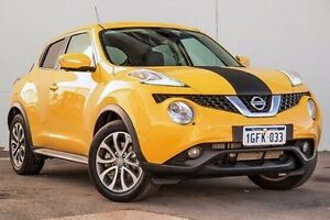 2015 Nissan Juke F15 Series 2 Ti-S X-tronic AWD Yellow 1 Speed Constant Variable Hatchback Myaree Melville Area Preview