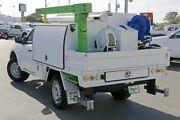 2011 Mitsubishi Triton MN MY11 GLX White 4 Speed Automatic Cab Chassis Acacia Ridge Brisbane South West Preview